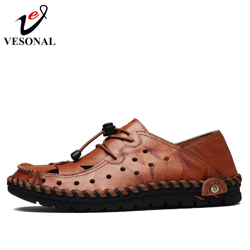 Hommes Sécurité red Chaussures Non Pour Shoes La Black Brown Plage yellow Shoes À glissement Mâle Shoes En Résistant Cuir Véritable Adulte Confortable L'usure Vesonal IwxqYaFw