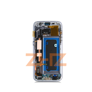 Image 4 - Super amoled For Samsung Galaxy S7 LCD G930F Display Touch Screen Digitizer Assembly With Frame for samsung s7 spare Parts tools