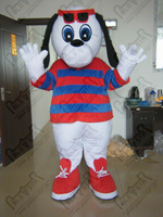 high quality plush dog mascot costumes lovely puppy costumes
