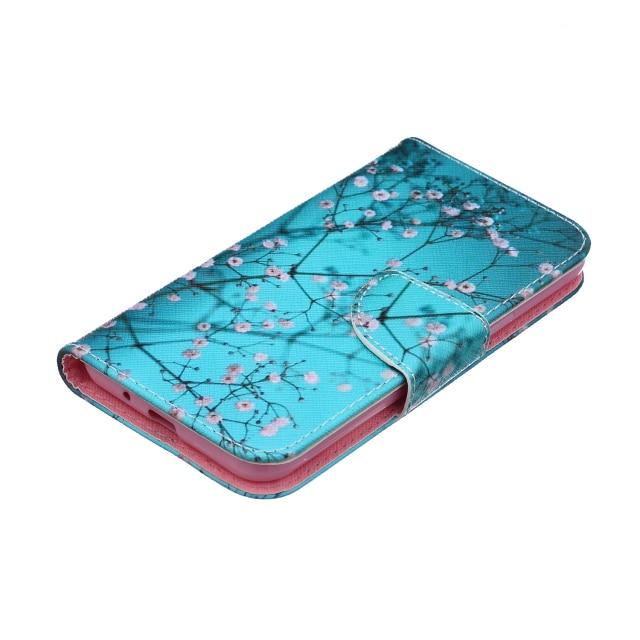 Fundas de teléfono para Samsung Galaxy J3 Funda de cuero Flip Wallet - Accesorios y repuestos para celulares - foto 3