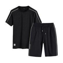 SnYv Vivinary 2019 летние спортивные костюмы бег хлопок для мужчин 2 psc