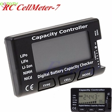 Digital Battery Capacity Checker RC CellMeter 7 For LiPo LiFe Li ion NiMH Nicd
