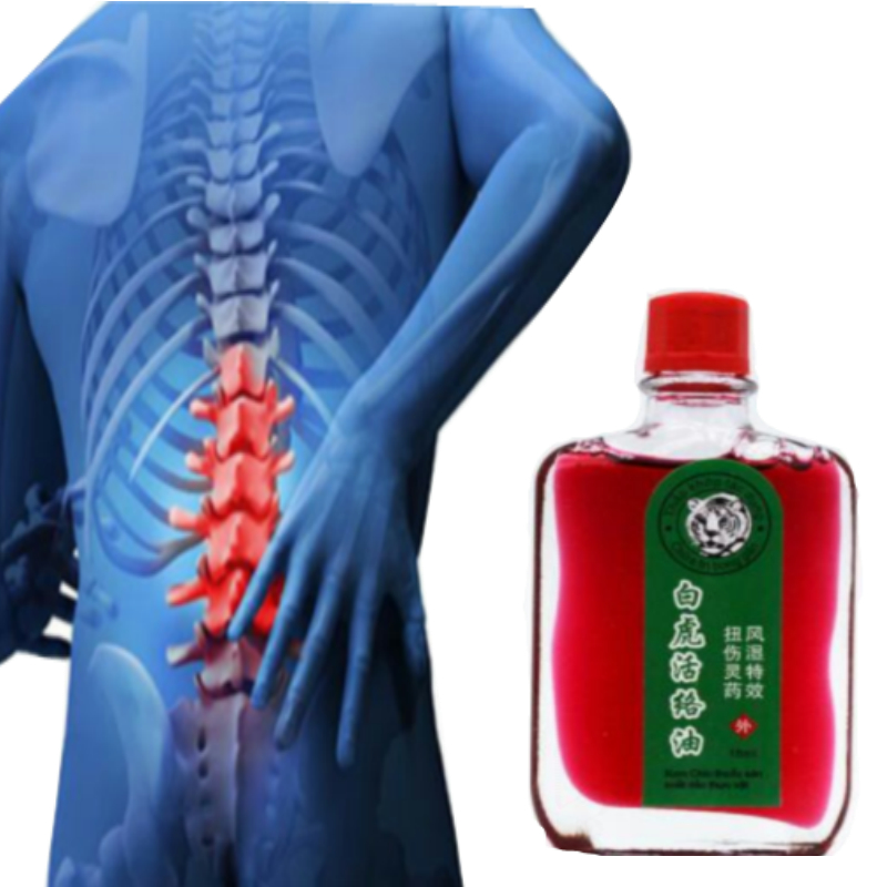 White Tiger Balm Oil Rheumatic Pain Leg Pain Frozen Shoulder Osteoarthritis Bone Spurs Cervical Spondylosis Pain Relief Massagem