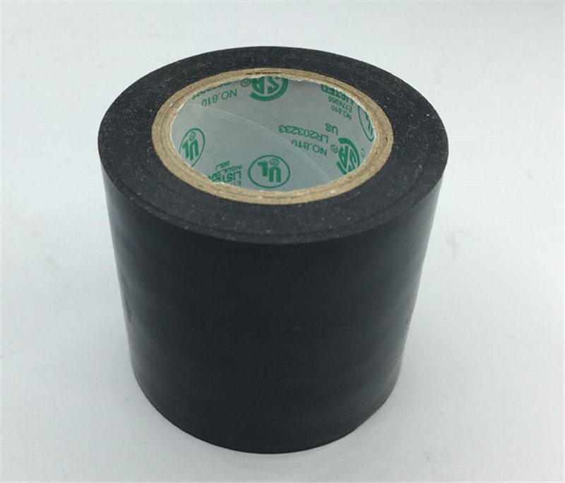 Insulating tape used for seal connection part of heating film, water proof pvc insulating tape 4.5cm x 15m