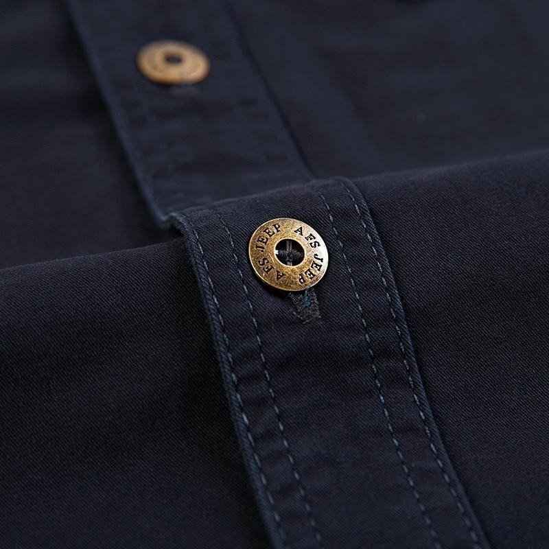 Camisa de combate de los hombres U.S Camisa militar AFS JEEP Marca - Ropa de hombre - foto 6