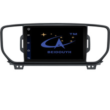 BEIDOUYH Android Car GPS Navigation for KIA KX5 2016 with touch screen/Radio Support Front/Rear Record/DVR/can-bus gps navigator