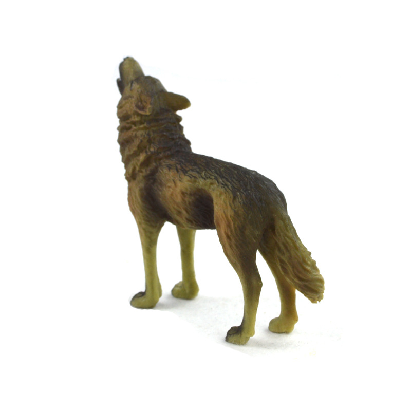 WAXSAM 2017 NEW PVC PVC Animals World Steppe Wolfs Staric Model Plastic Action Figures font b