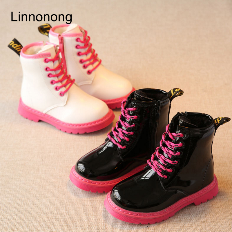 Hot-Winter-Children-Snow-Boots-Fashion-Kids-Girls-Boys-Lace-up-Martin-Boots-Plush-Keep-Warm-Antislip-Patent-Leather-Boots-Shoes-3