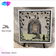 path for scenic Silicone Transparent Rubber Stamp background clear Stamps DIY Scrapbooking paper card making