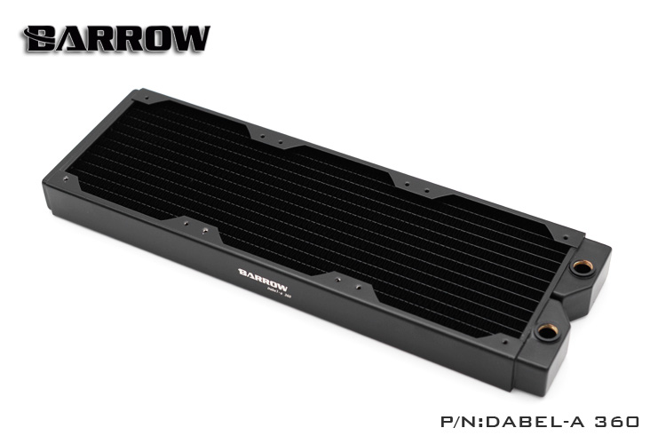 Barrow Dabel-a 360mm Copper Radiator Water Cooling barrow dabel 60a dabel 120mm 12cm 60mm height copper radiator water cooling