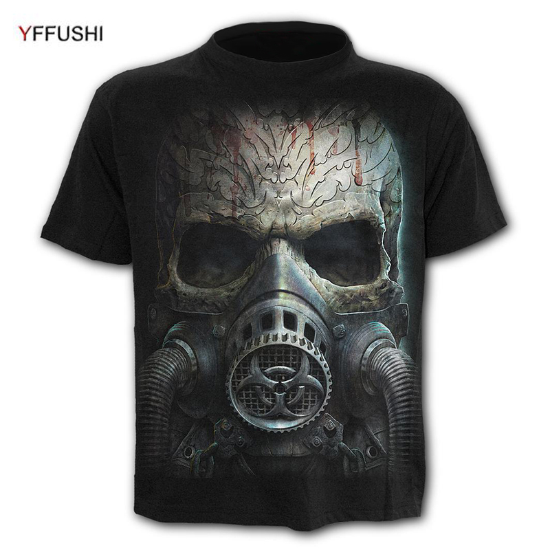 Brave Papa Roach Gas Mask T-shirt Rock Band F.e.a.r Jacoby Shaddix Infest Great Varieties Back To Search Resultsmen's Clothing T-shirts