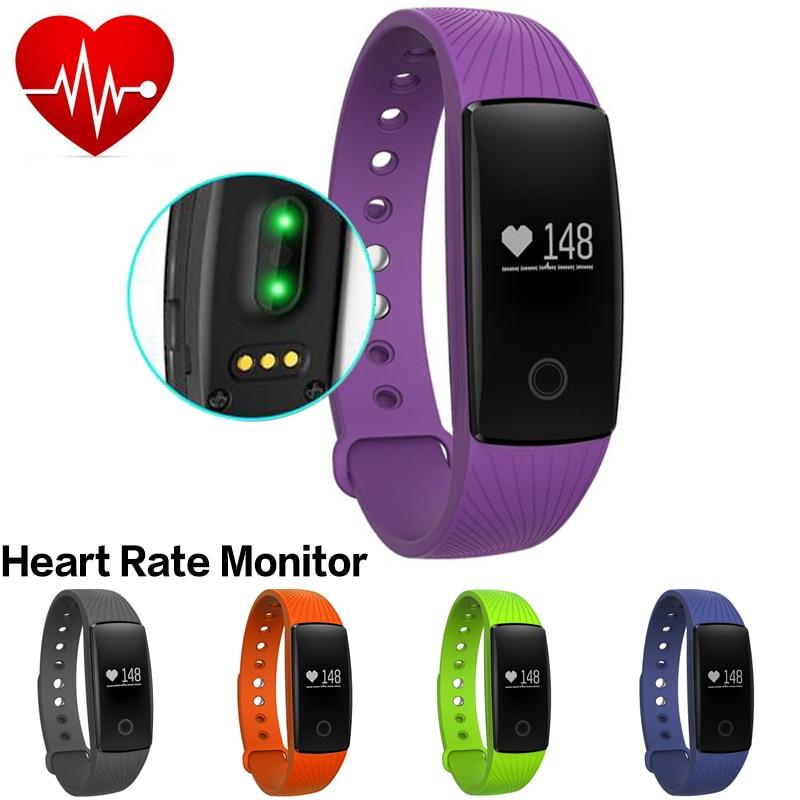 Heart Rate Monitor Smart Fitness Bracelet Band Activity Tracker Bluetooth Smart
