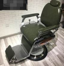 High-end simple barber shop chair modern style hair salon dedicated hair lift chair tide shop net red hairdressing chair.(China)