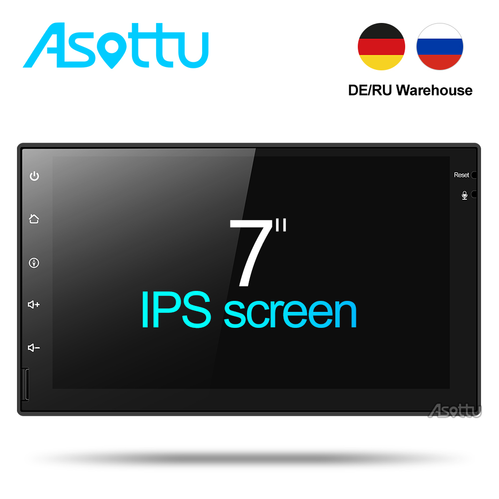 Asottu CWD7060 2G android 7.1.2 car dvd gps navigation radio video player stereo universal 2 din radio car multimedia player gps