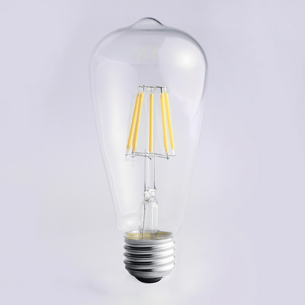 8W Vintage Retro Bulbs LED Lamps E27 Screw Base B22 Bayonet COB Led Filament Light Bulb LED Super Deal! Inventory Clearance