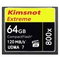 Kimsnot Extreme 800x64 ГБ Cf-карты Compact Flash Card 16 ГБ 32 ГБ 128 ГБ Флэш-Карты Памяти CompactFlash Карты Камеры 120 МБ/с. UDMA7