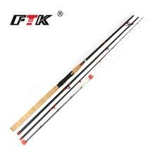 FTK 2018new Carp Rod 99% Carbon 3SEC C.W 60-160G 3.3M 3.6M 3.9M Standard 2MM Tip diameter High Carbon Carp Rod For Lure Fishing