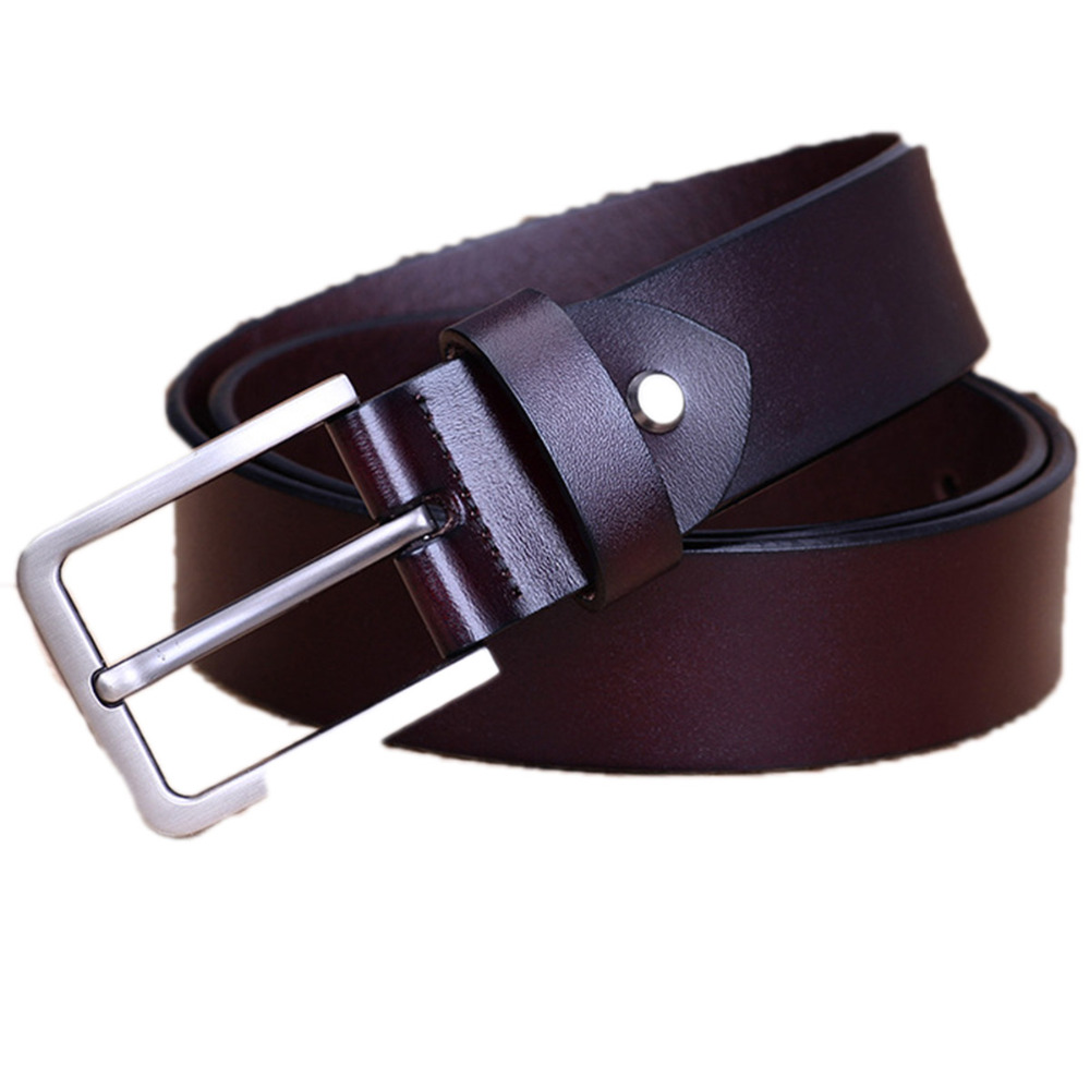 Fashion High Quality Brand Man Belt Split Leather Belt Italian Design Casual Mens Leather Belts For Jeans For Man Free Shipping
