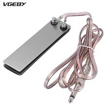 Mini Stainless Steel Foot Pedal Switch Controller Tattoo Power Supply Machine Footswitch + 5ft Clip Cord Tattoo Accessory Tools(China)