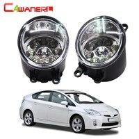Cawanerl H8 H11 Auto Fog Light DRL Daytime Running Light Car LED Lamp Bulb For Toyota
