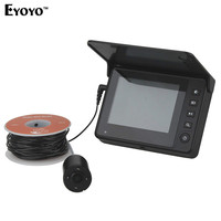Eyoyo DY03A Professional Underwater Fishing Camera 15M 3 5 Monitor Fish Finder Video 4PCS Infrared LEDS