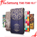 T580 T585 case Newset High Quality Case cover For Samsung Galaxy Tab A 10.1 2016 T585 T580 SM-T580 T580N 10.1 tablet Pc