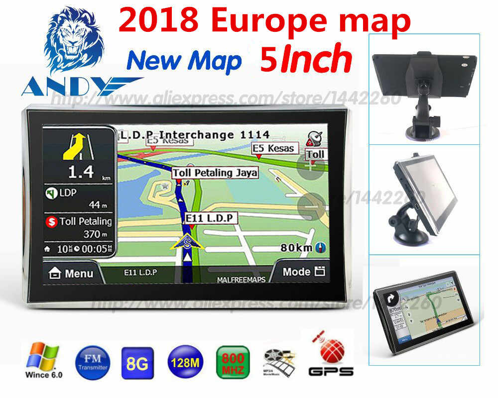 Detail Feedback Questions about Oriana 5 inch gps navigation