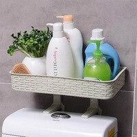 홈 욕실 스토리지 랙 다기능 강력한 접착제 랙 세면 용품 선반 욕실 오거나이저 액세서리 인기 판매