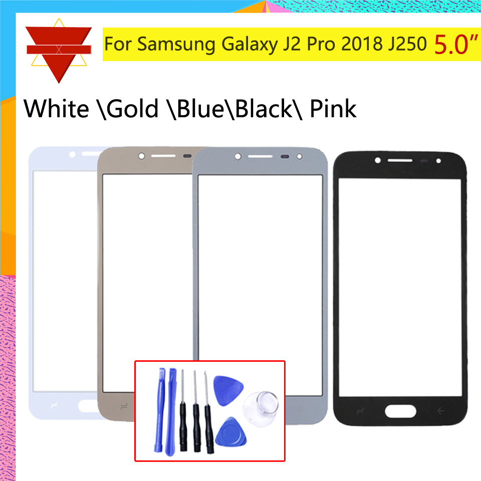 Touch <font><b>Screen</b></font> outer Front Glass Panel For <font><b>Samsung</b></font> Galaxy <font><b>J2</b></font> Pro <font><b>2018</b></font> J250 J250M J250G Grand Prime Pro TouchScreen LCD Outer Lens image