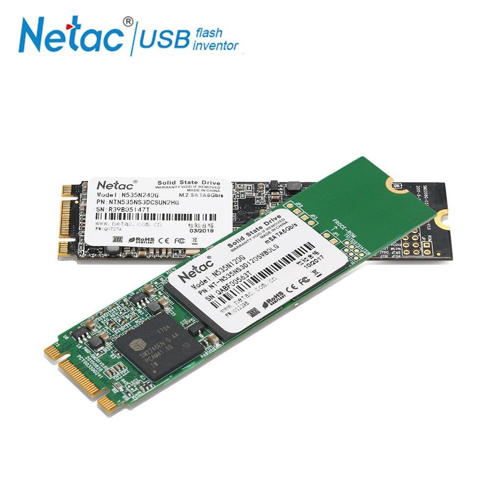edb6948cbb Netac NGFF M.2 2280 SSD 240GB 120GB Internal Solid State Drive 120 GB 240GB