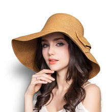 Hot Sale Womens Sun Hats for Beach Summer Holiday,Hats Female summer,Women Casual Dresses,lady straw hats