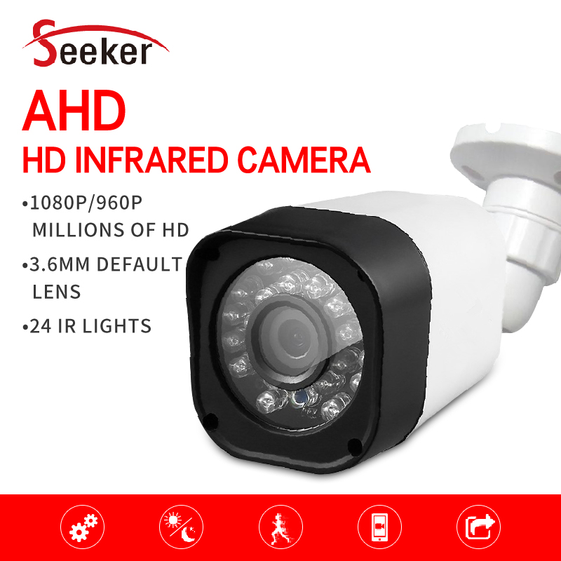 New CCTV Surveillance Camera AHD High Definition Analog Camera 1080P Sony CCD Sensor Night Vision Outdoor Bullet Camera smar outdoor bullet ip camera sony imx323 sensor surveillance camera 30 ir led infrared night vision cctv camera waterproof