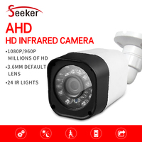 New CCTV Surveillance Camera AHD High Definition Analog Camera 1080P Sony CCD Sensor Night Vision Outdoor Bullet Camera