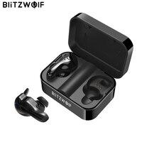 Blitzwolf BW FYE1 Bluetooth V5.0 TWS True Wireless Sport Earphone TWS Earbuds Hi Fi Stereo Dual Microphone w/ Charging Box