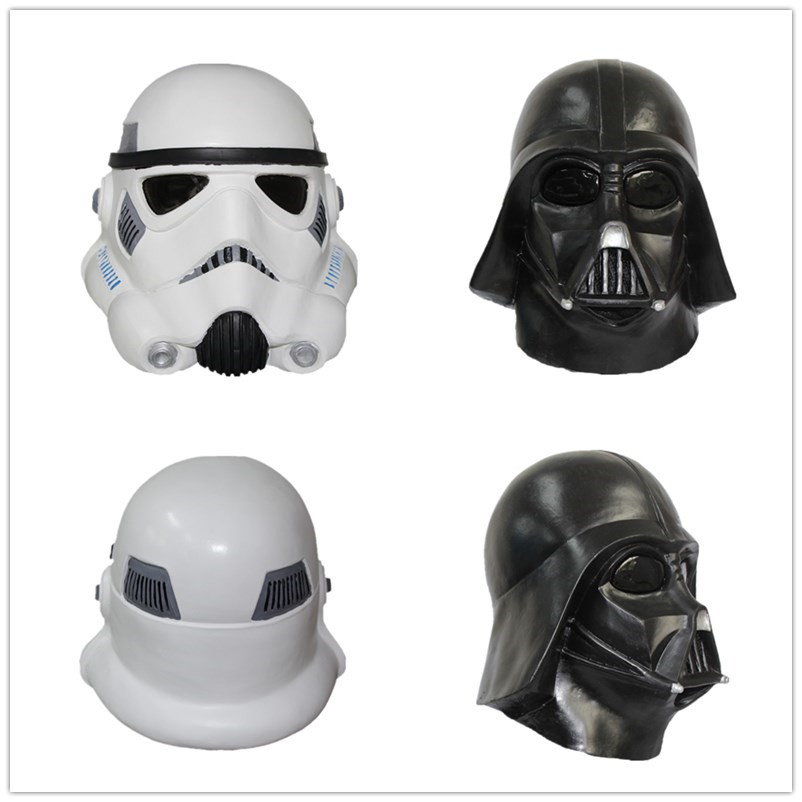 X MERRY TOY Costume Collector Stormtrooper Collectors Darth Vader Helmet With Latex Material font b Best