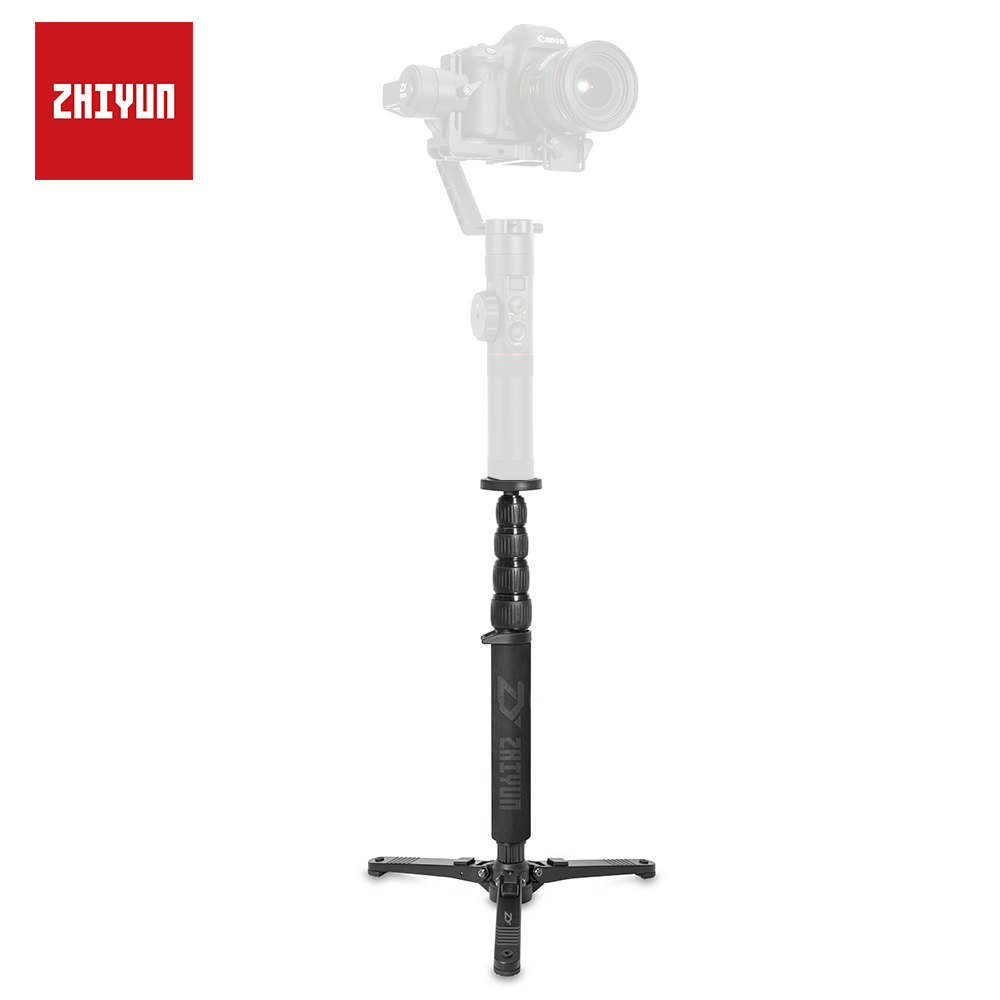 ZHIYUN Original Gimbal Monopod Mount with 1/4 to 3/8 Inch Threaded Screw Adapter for Weebill Lab/ Crane 3/ 2/ Plus