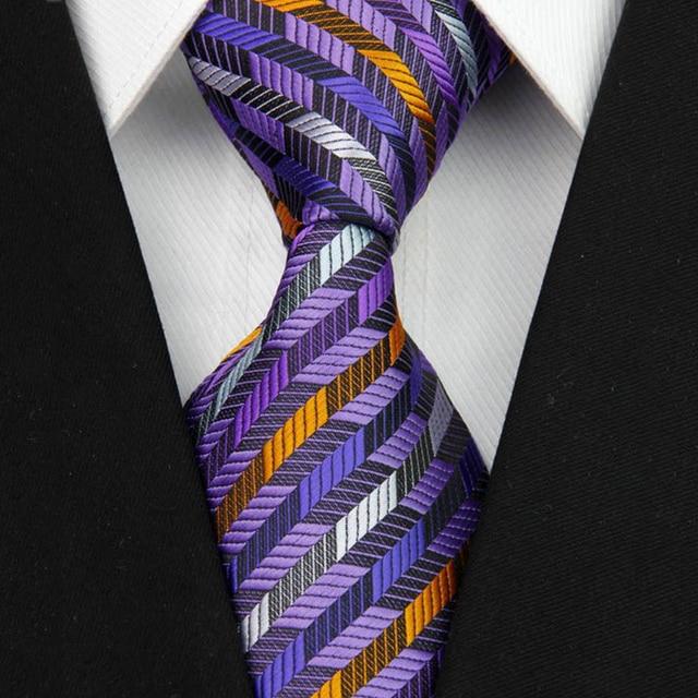 """4""""/10cm Wide Men's Wedding Suit Jacquard Ties  1"""