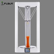 Large Printing Size 3D Printer Machine 260*260*350mm Auto-levleing System Kossel Metal Rostock 3d Printer 1kg Filament SD Card