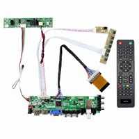 لوحة 21.5 بوصة 1920x1080 LCD LTM215HT04 HDMI VGA AV USB ATV DTV LCD
