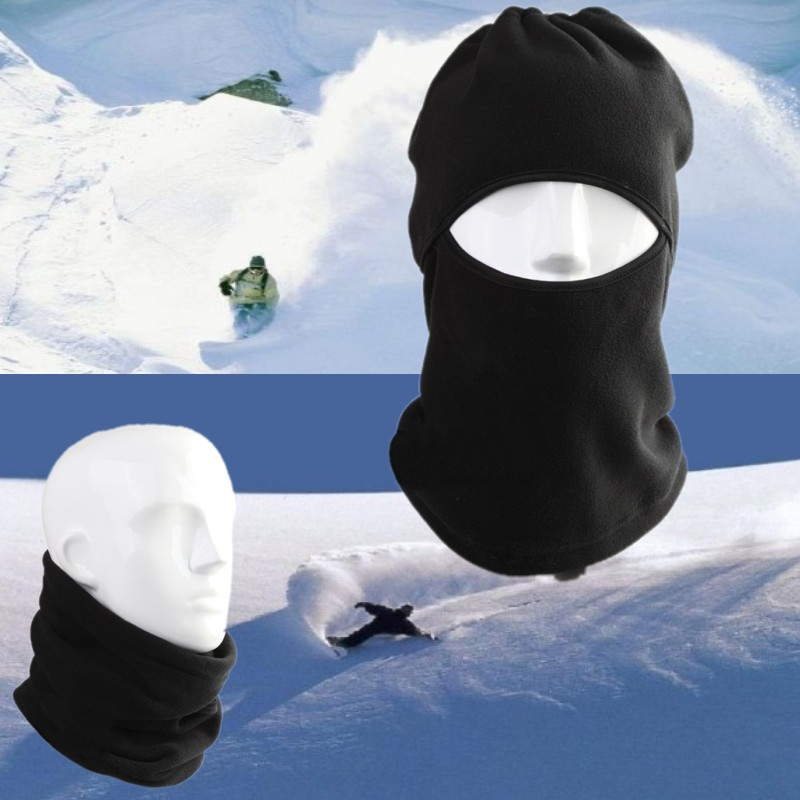 2019 Winter Warm Fleece Full Face Mask Unisex Fashion Balaclava Half Masks Hat Cover Cap Outdoor Sports Neck Scarf Mouth Mask