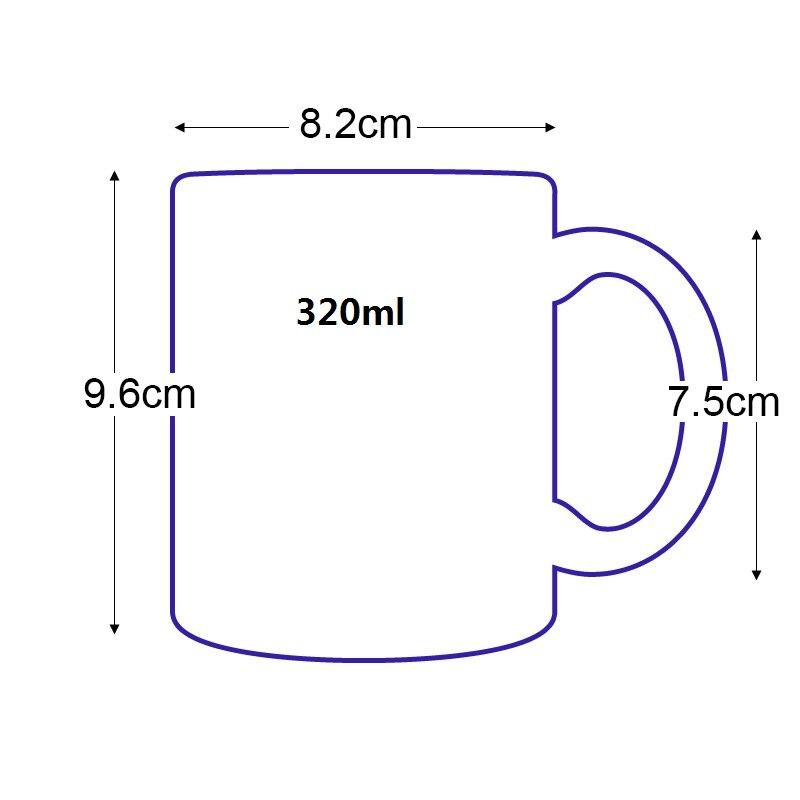 Spirited Away Mug Dimension