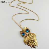 ROSE LIFE 2017Japan And South Korea Europe And The United States Influx Of People Bronze Owl