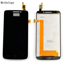 цена на Mythology Touch Panel LCD For Lenovo S650 4.7Inch 960x540 Mobile Phone Touch Screen Display Digitizer Replacement