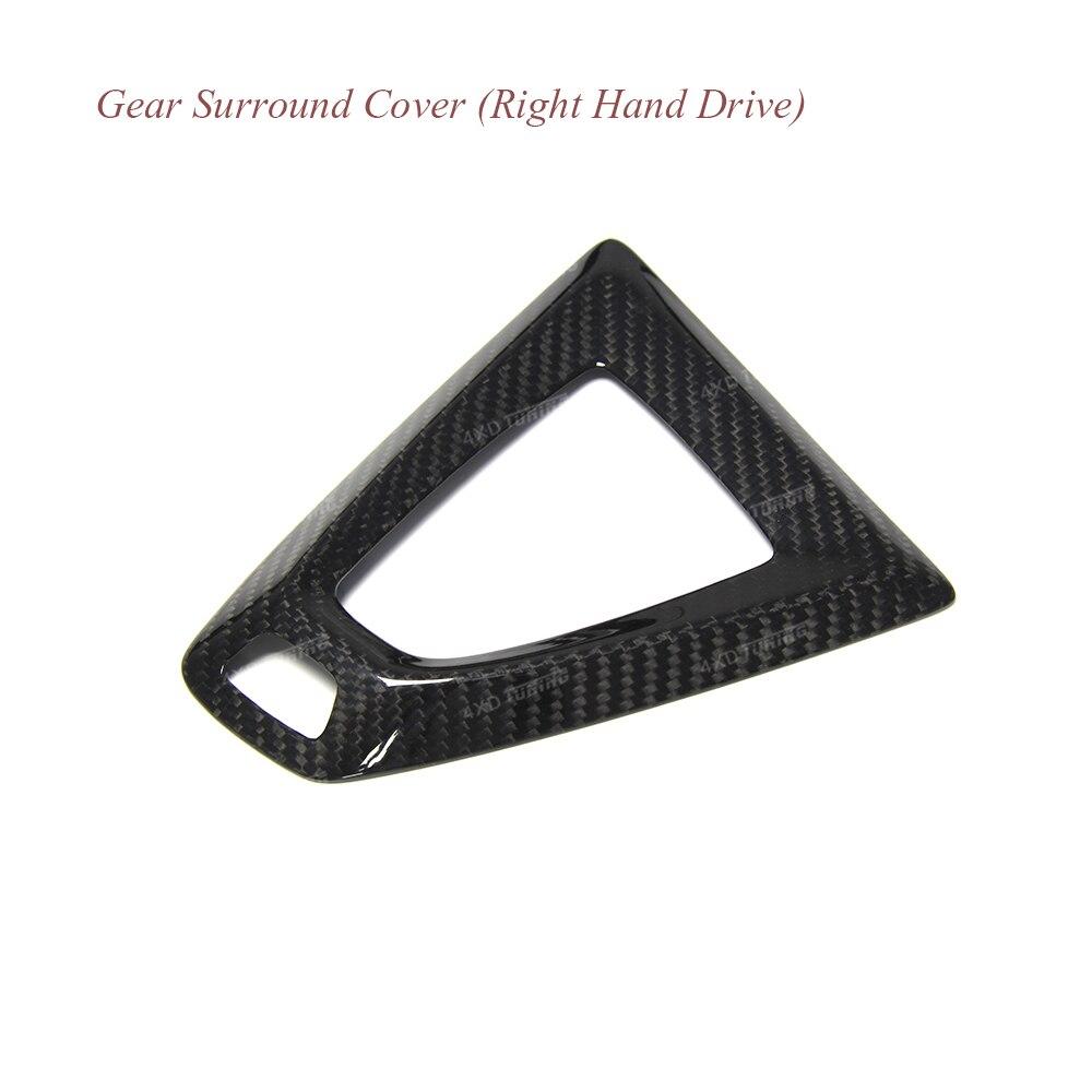 For BMW M2 Carbon Gear Base Cover M2 F87 E92 M3 F80 M4 F82 F10 M5 M6 F85 X5M F86 X6M Gear surround Cover for Right Hand Drive