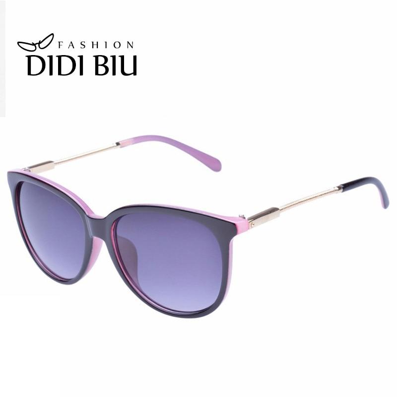 DIDI Vintage Cat Eye Leopard Sonnenbrille Frauen Luxus Marke Dünne ...