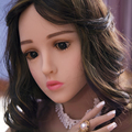 Chinese girl sex doll 140cm silicone and metal skeleton life size real sex dolls for man