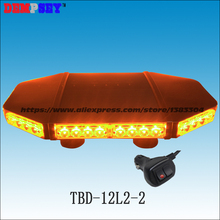 Buy mini led lightbar and get free shipping on aliexpress dempsey tbd 12l2 2 magnetic mount led lightbaramber emergency warning strobe mozeypictures Gallery