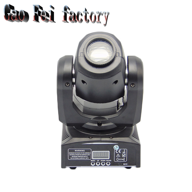 Factory price DMX Stage Spot Moving 11 Channels LED Spot 30W Moving Head Free Shpping 8pcs lot free shipping best lighting led moving head spot led 90w moving heads factory price