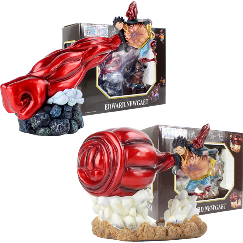 Anime One Piece Monkey D Luffy Action Figure Gear 4th King Kong Gun Dressrosa Luffy Model
