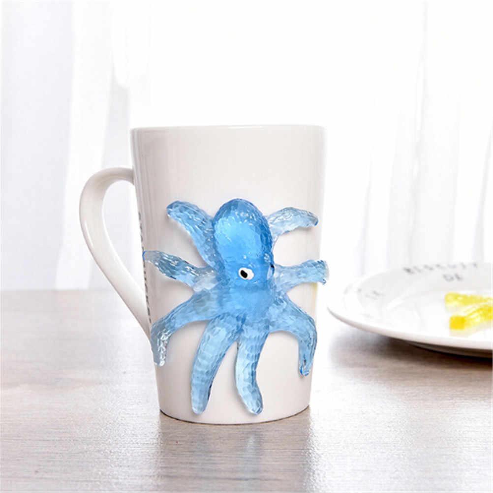 Pour enfants 'day doux matériel décompression étoile de mer pieuvre requin jouet collant Marine animaux jouets